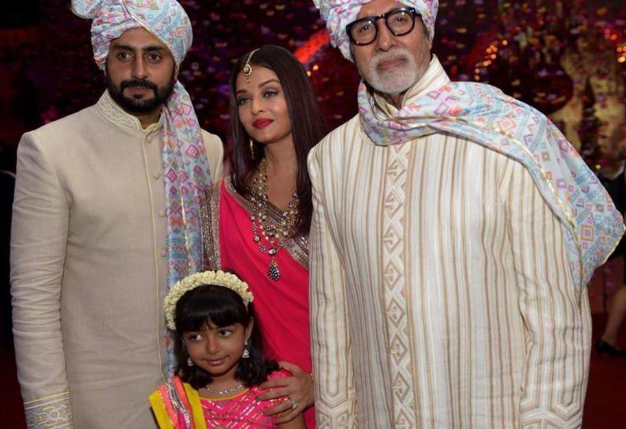 Amitabh bachchan niece wedding