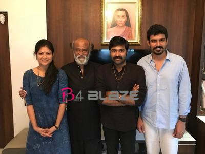 Rajinikanth gifts gold chains to 'Aruvi' team