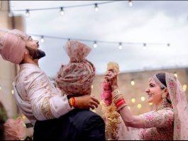 anushka kohli wedding
