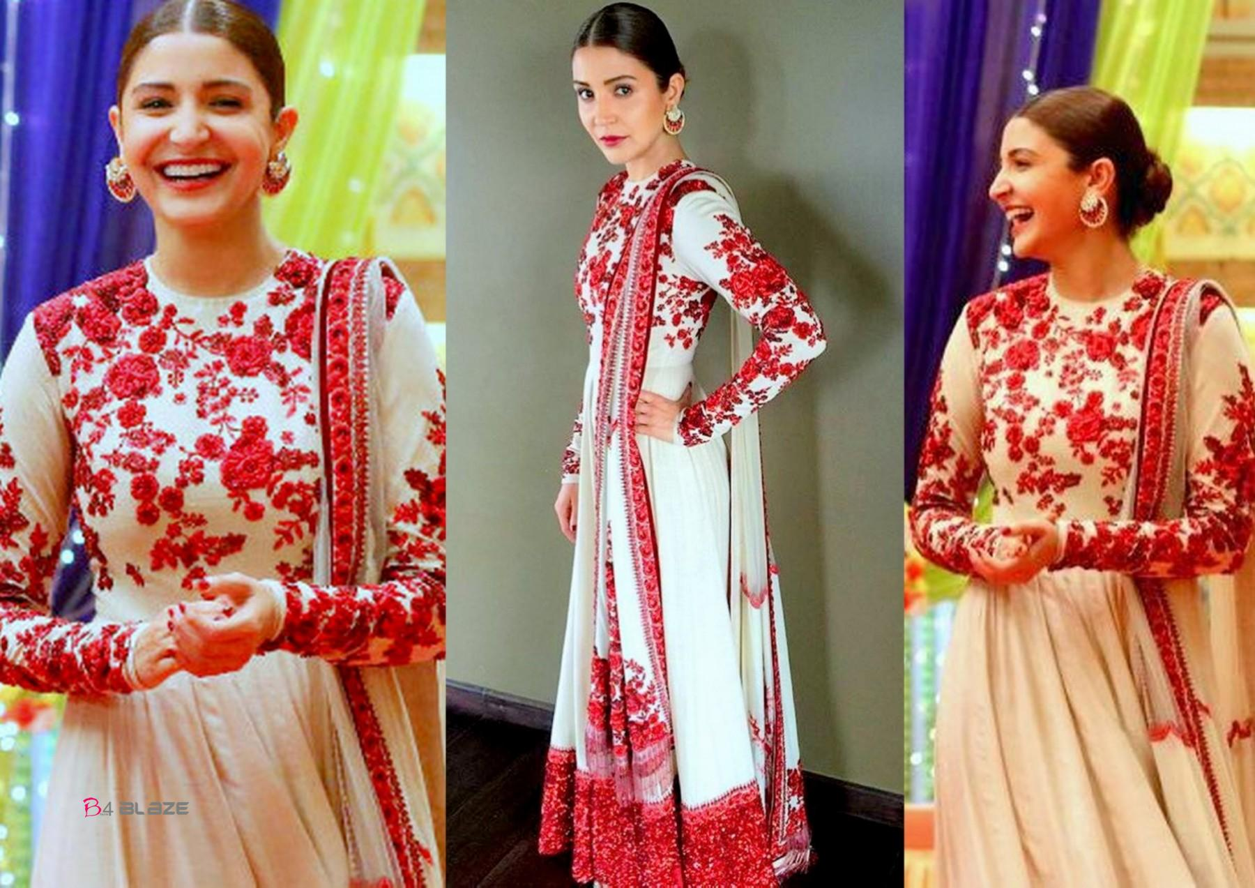 How to rock traditional indian wear like alia bhatt and - Anushka sharma sultan images ...
