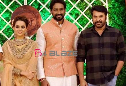 bhavana wedding reception