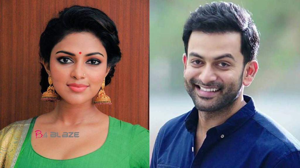 prithviraj and amala paul