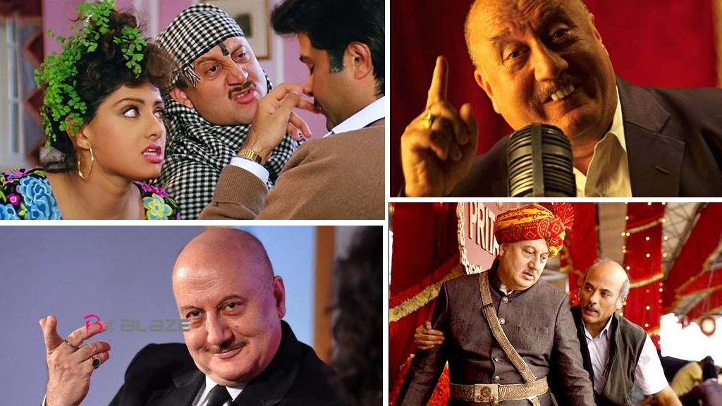 Happy Birthday Anupam Kher His Bollywood Journey Proves