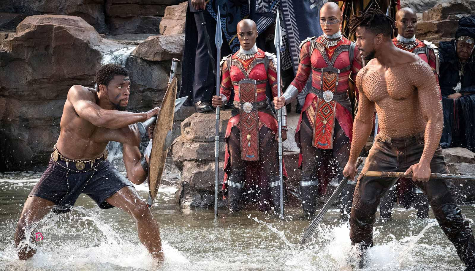 Black Panther Killmonger vs Black panther