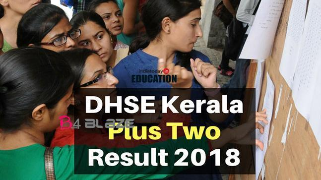 Kerala Plus Two Result 2018