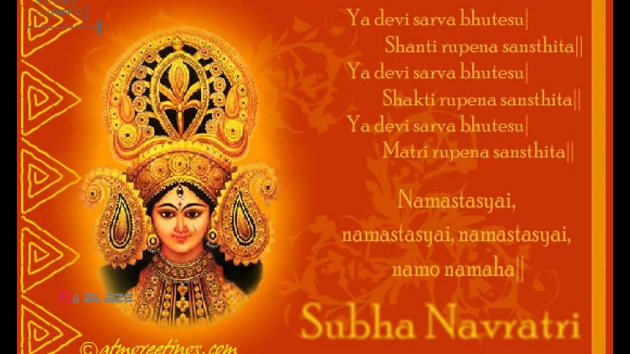 Happy Navratri 2018 Wishes Wallpaper Photos Pics Sms Greetings