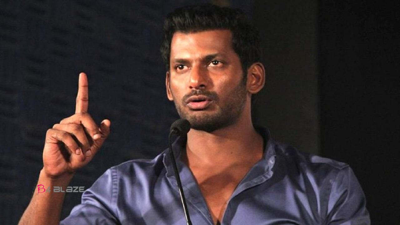 vishal in a trouble