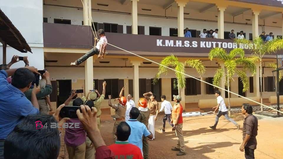Rescue process in KMHSS