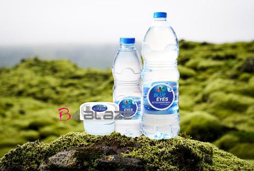 blue eyes water