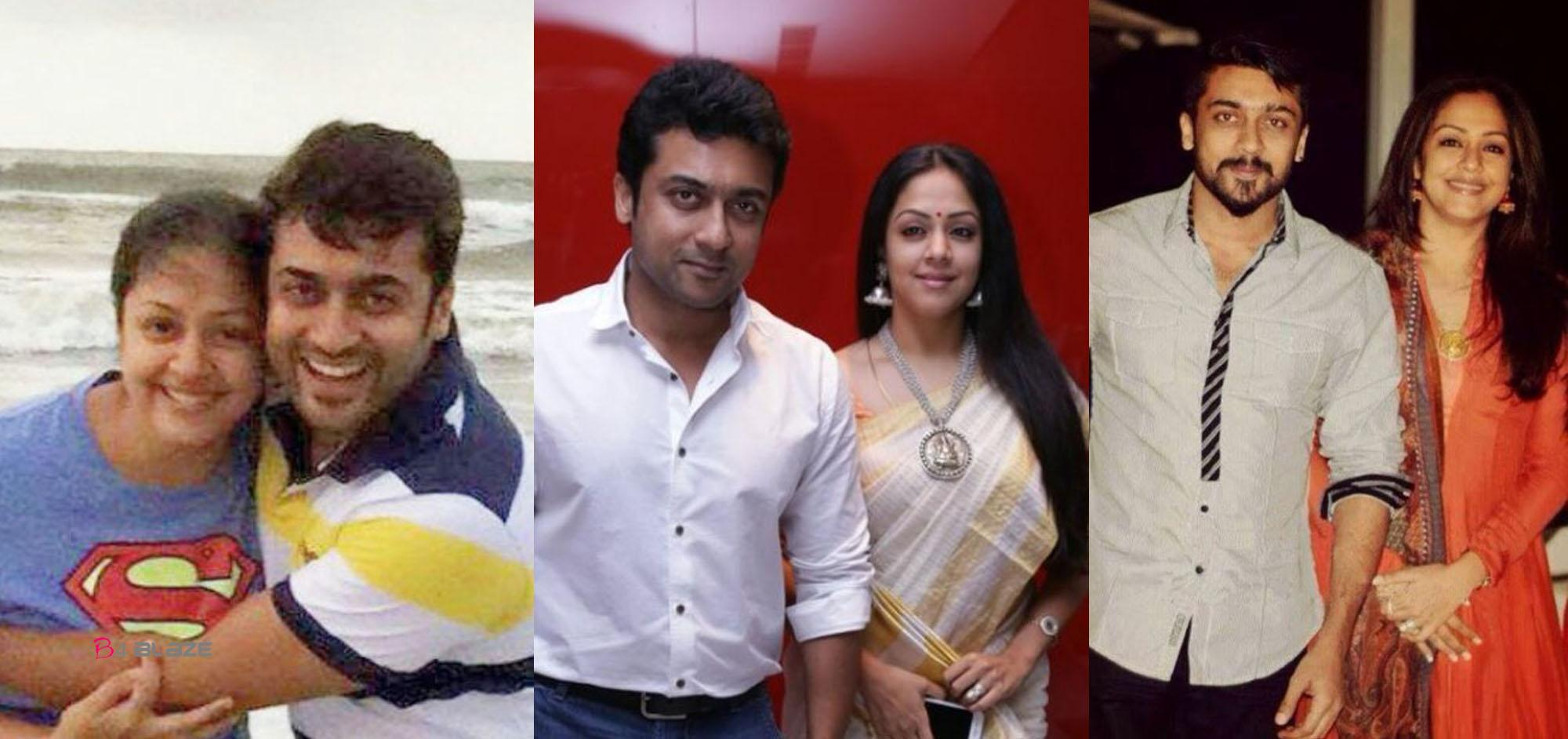 """All About Surya Only About Surya: """"Suriya Proposed First And Immediately I Said OK"""", Jyotika"""