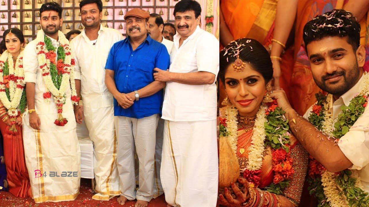 Actor, Director Ramesh Kanna Son Jashwanth Kannan Wedding Photos 1