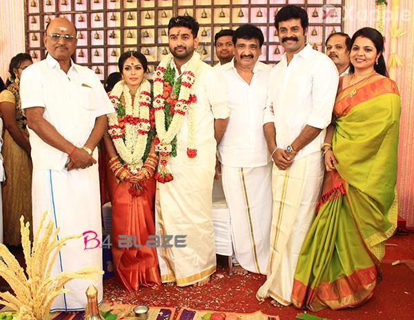 Actor, Director Ramesh Kanna Son Jashwanth Kannan Wedding Photos 3