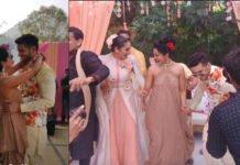 Diganth-Aindrita Ray's Haldi Function's Photos