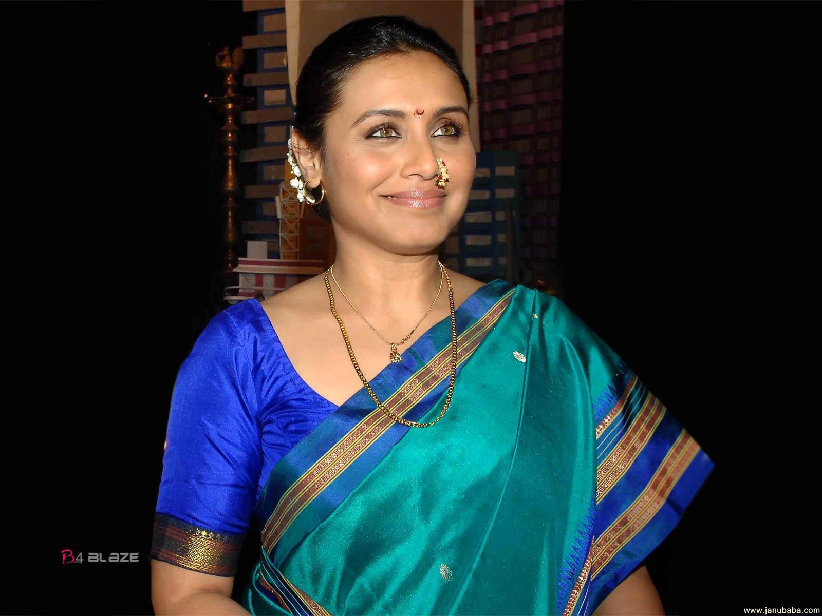Rani mukherji new in saree