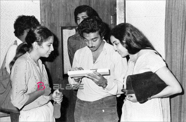 suhasini with kamal haasan