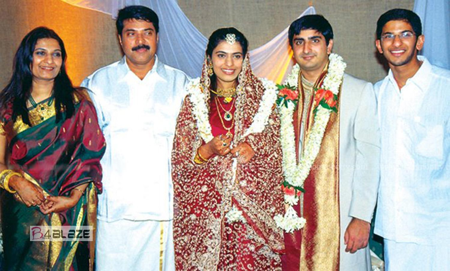 Mammootty family photos-Wife Daughter Son
