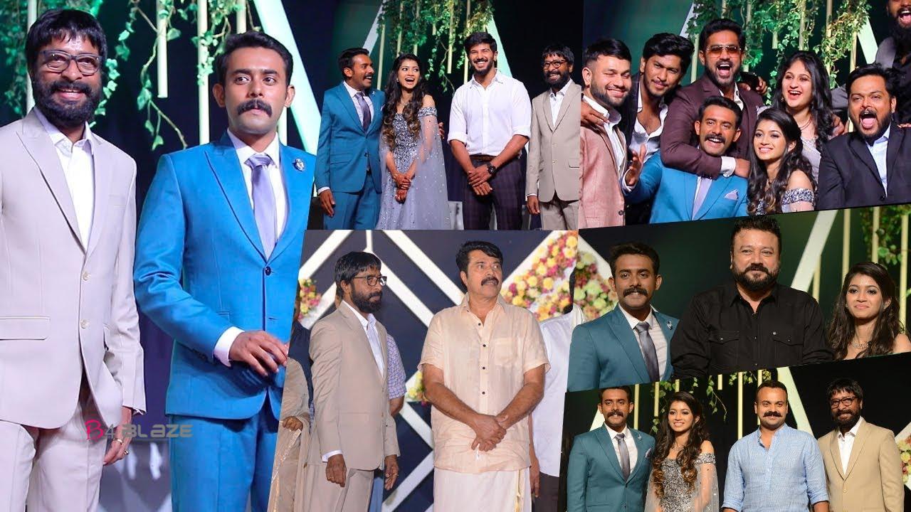 arjun ashokan wedding reception video
