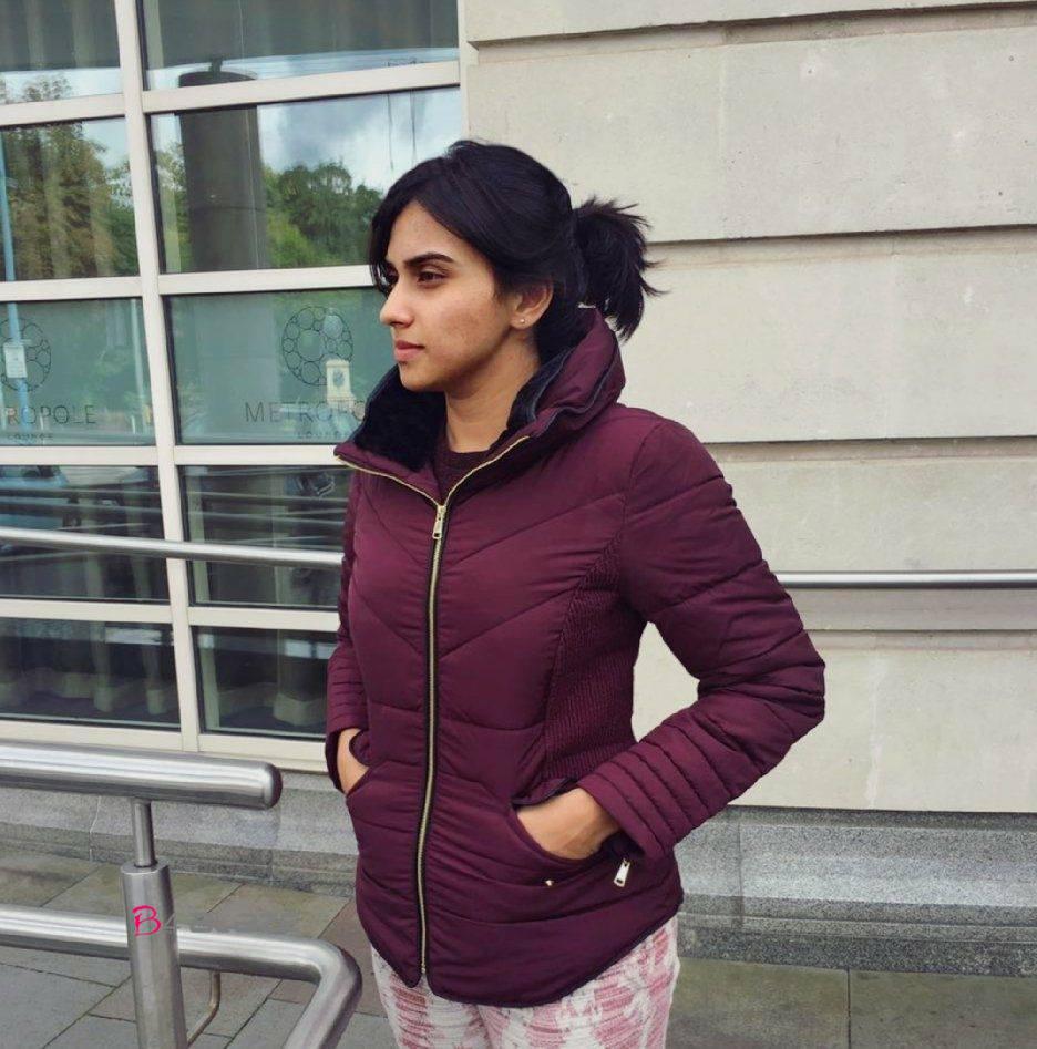 Malavika Jayaram in trendy look
