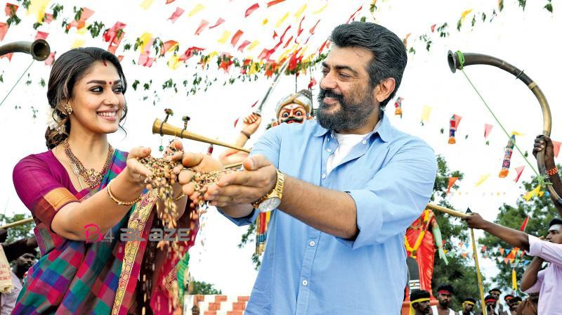 Viswasam movie available in online to downloads