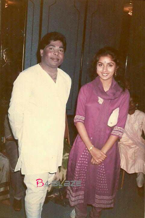 Revathi with Thilakan