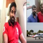vijay sethupathi in a private jet