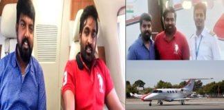 vijay sethupathi in a private jet