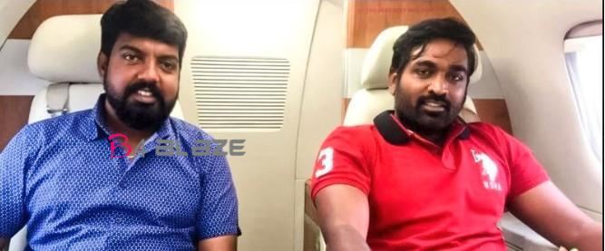 vijay sethupathi in private jet