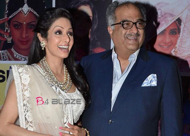 Boney Kapoor-Sridevi