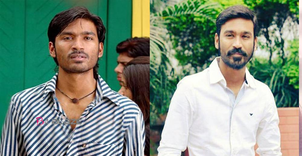 DHANUSH Before and After 10 years