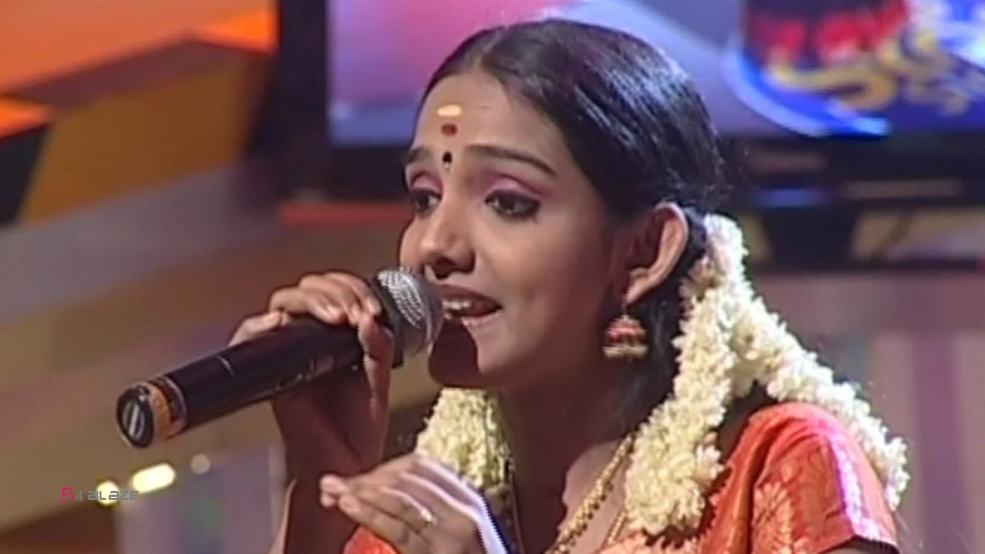 Idea Star Singer Fame Manjusha Mohandas