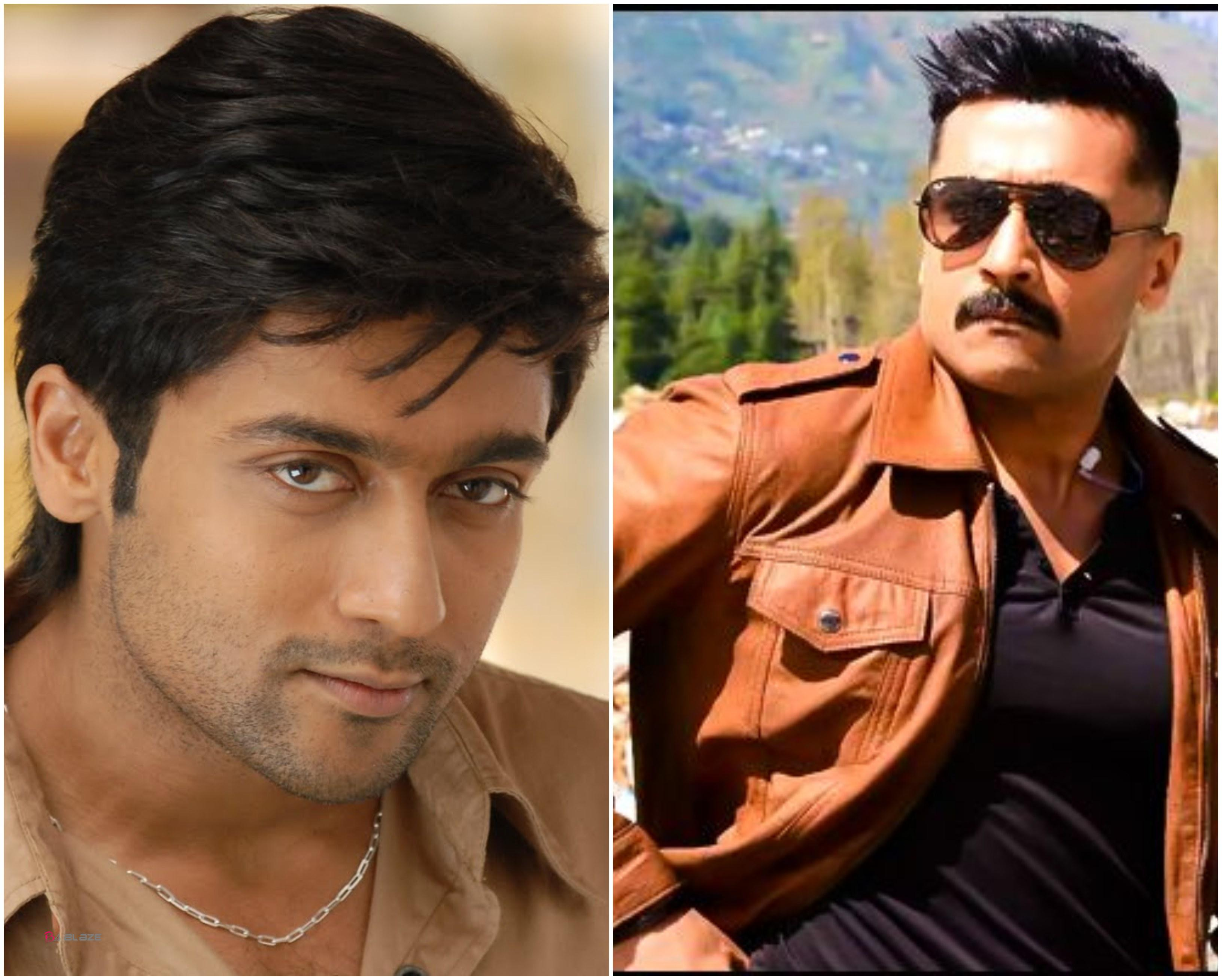 Suriya before and after 10 years