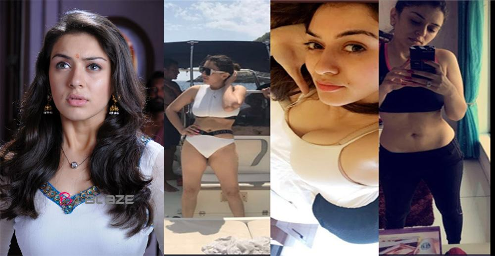 hansika motwani's personal photos leaked without her permission
