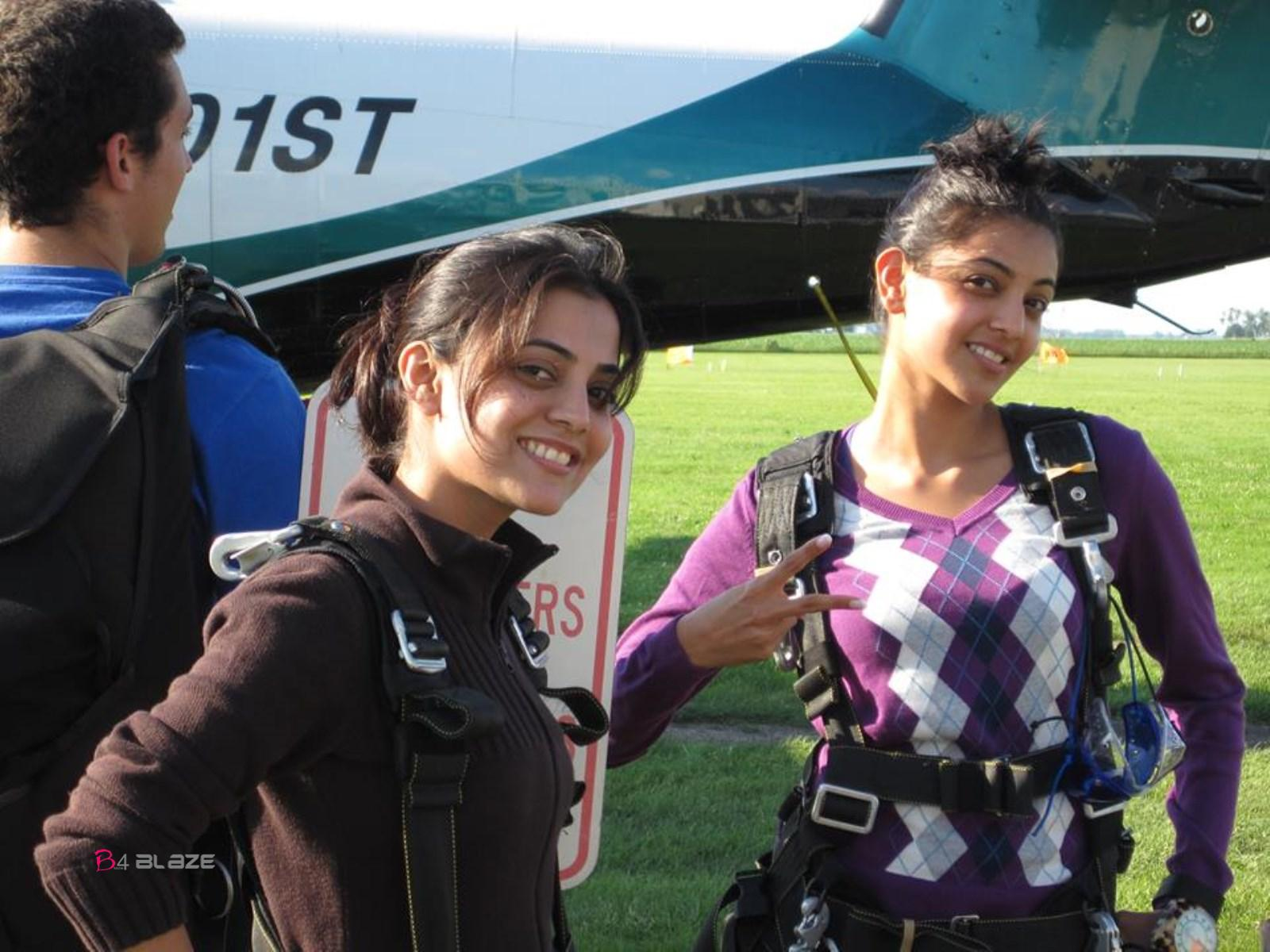 Kajal Agarwal and Nisha Agarwal Photos Stills