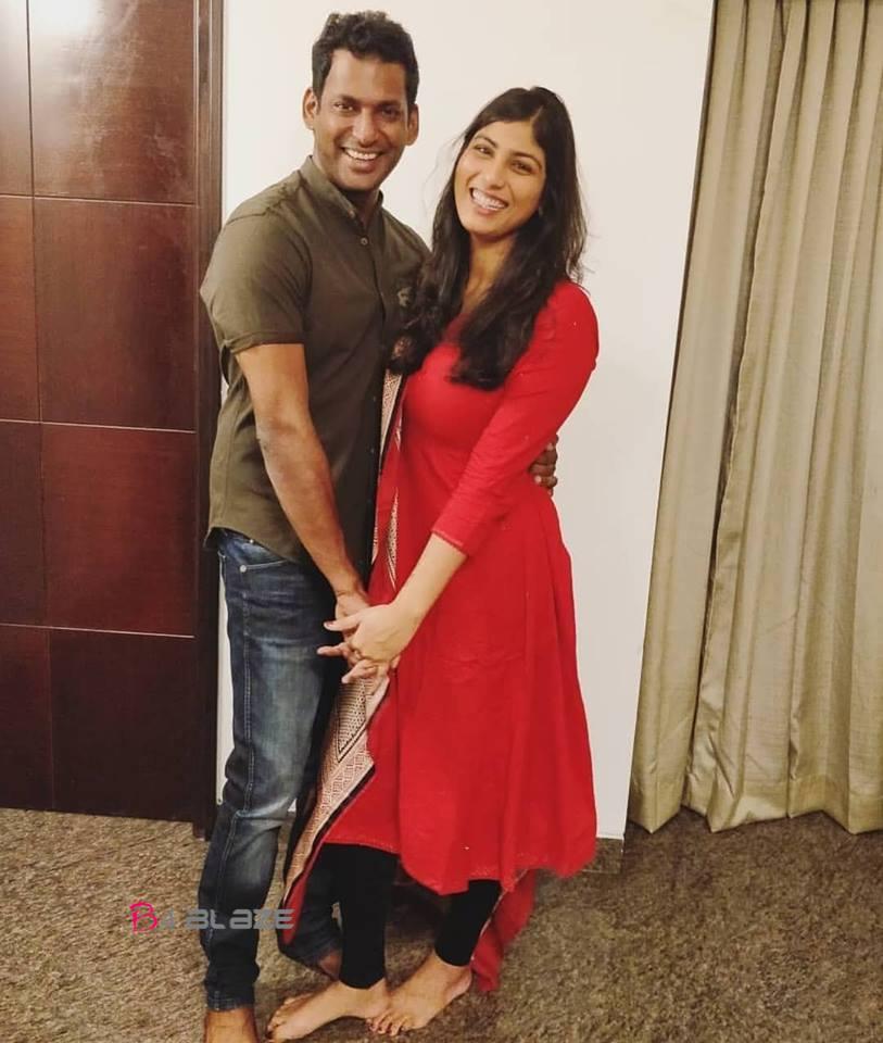 vishal and his wife anisha