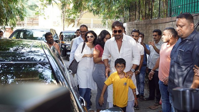 Ajay Devgn with his family