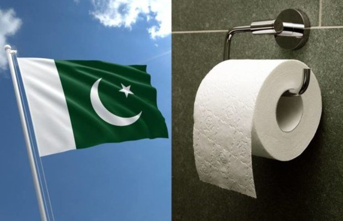 Best Toilet Paper Search Resul in Google is Pakistani Flag