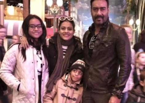 Kajol and Family
