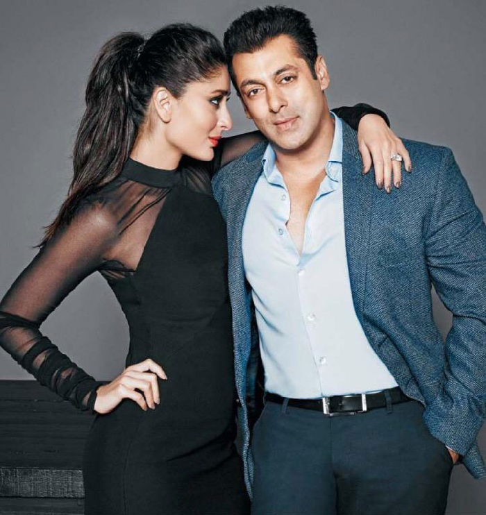 Kareena Kapoor with Salman Khan