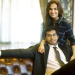Rajinikanth's Daughter with future husband Vaishakan