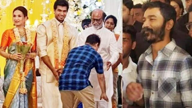 Real reason for Dhanush late for sondarya rajinikath's pre wedding function 2