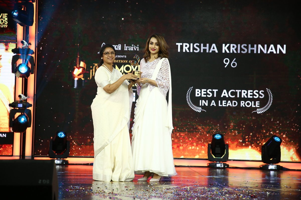 Revathi and Trisha Krishnan