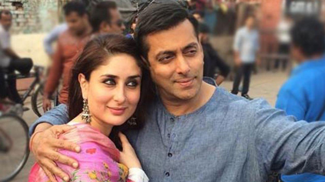 Salman Khan with Kareena Kapoor