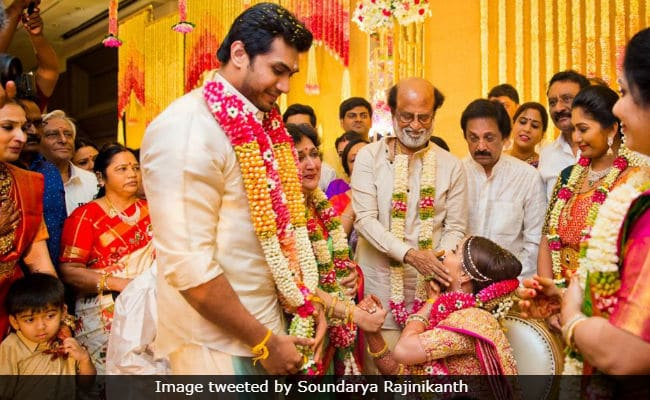 Soundarya Rajinikanth and Vishagan Wedding Photos 3