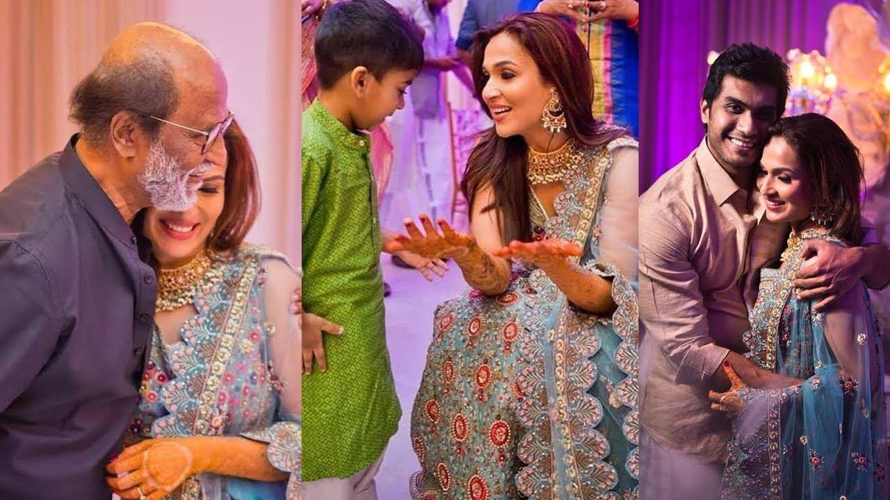 Soundarya Rajinikanth wedding photos 2