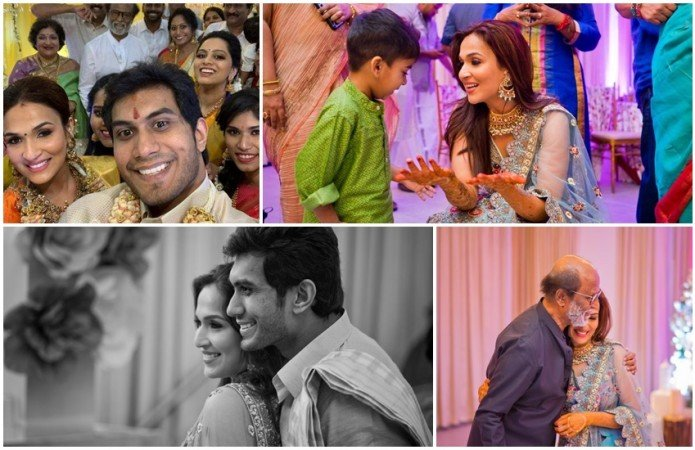 Soundarya Rajinikanth wedding photos 5