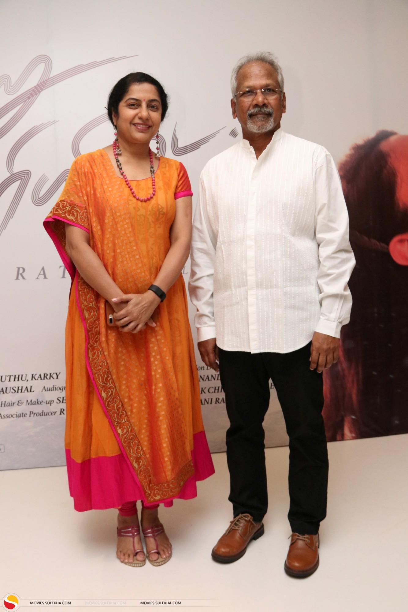 Suhasini and Maniratnam