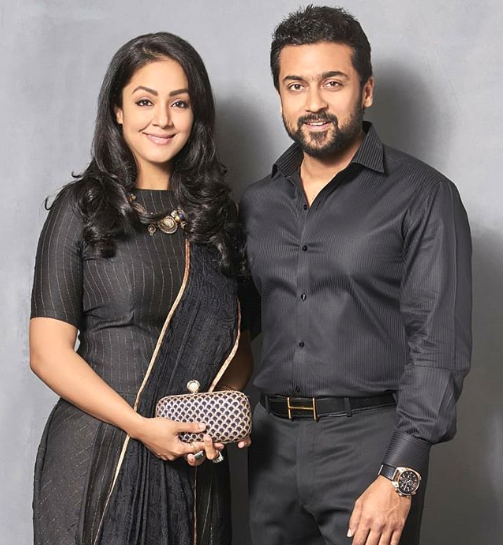Suriya and Jyothika HD Photos