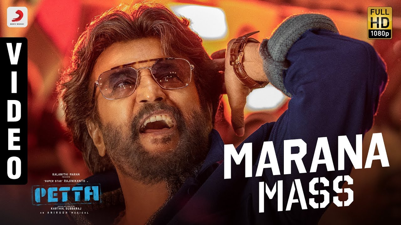 marana mass song from petta