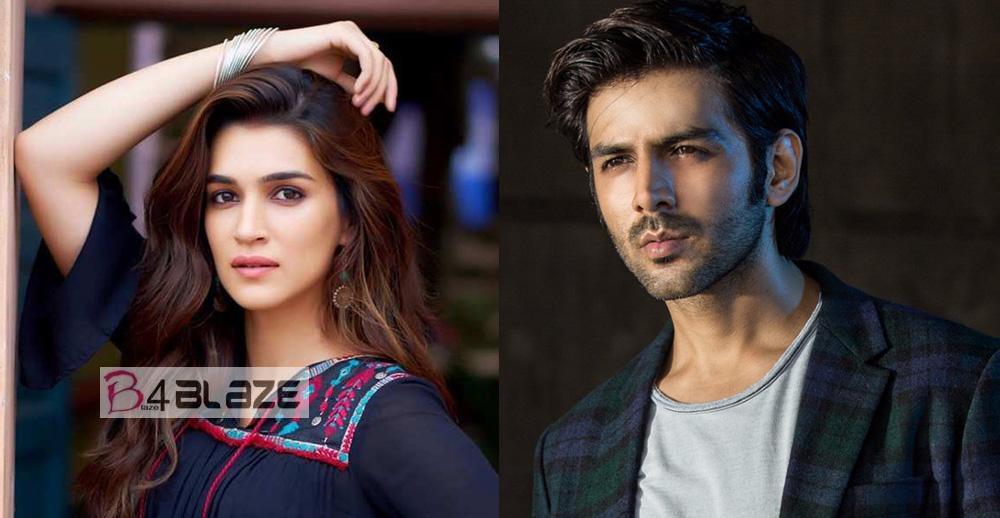 Luka Chuppi actors Kartik Aaryan and Kriti Sanon
