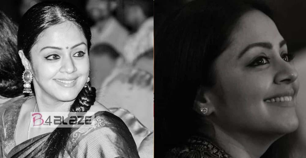 Jyothika black and white photos